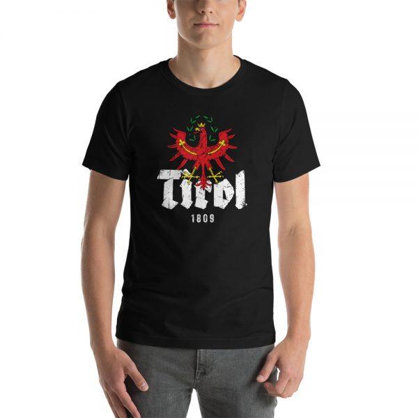 Tirol 1809 Adler Tirolerland Schriftzug T-Shirt