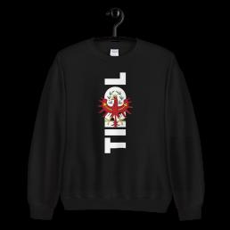 Tirol Adler Wappen Tirolerland Schriftzug Sweatshirt Pullover