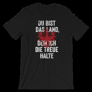 Tirol Du bist das Land dem ich die Treue halte Adler Tirolerland T-Shirt