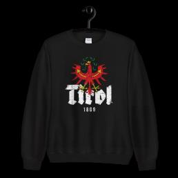 Tirol 1809 Schriftzug Adler Sweatshirt Pullover