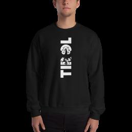 Tirol Schriftzug Adler Wappen Sweatshirt Pullover