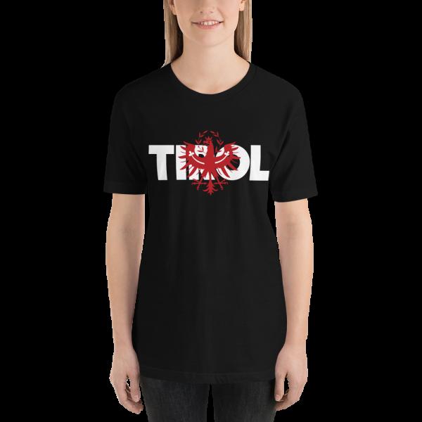 Tirol Tiroler Adler Tirolerland Schriftzug T-Shirt