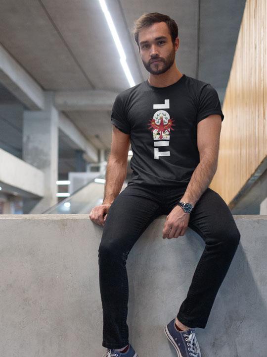 Tirol Schriftzug Adler Wappen T-Shirt