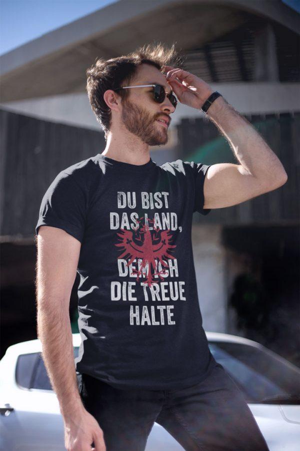Tirol Du bist das Land dem ich die Treue halte Tirolerland T-Shirt