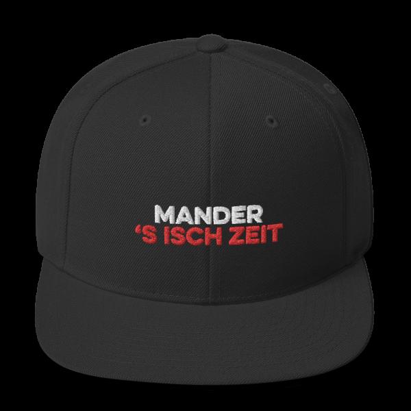 Mander 's isch Zeit Tirol Andreas Hofer Snapback Kappe