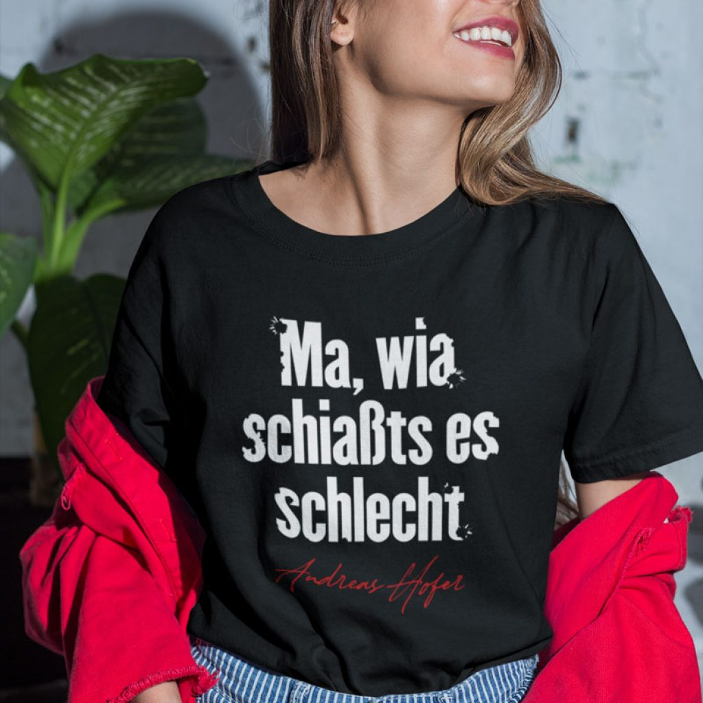 Andreas Hofer Dialekt Zitat T-Shirt