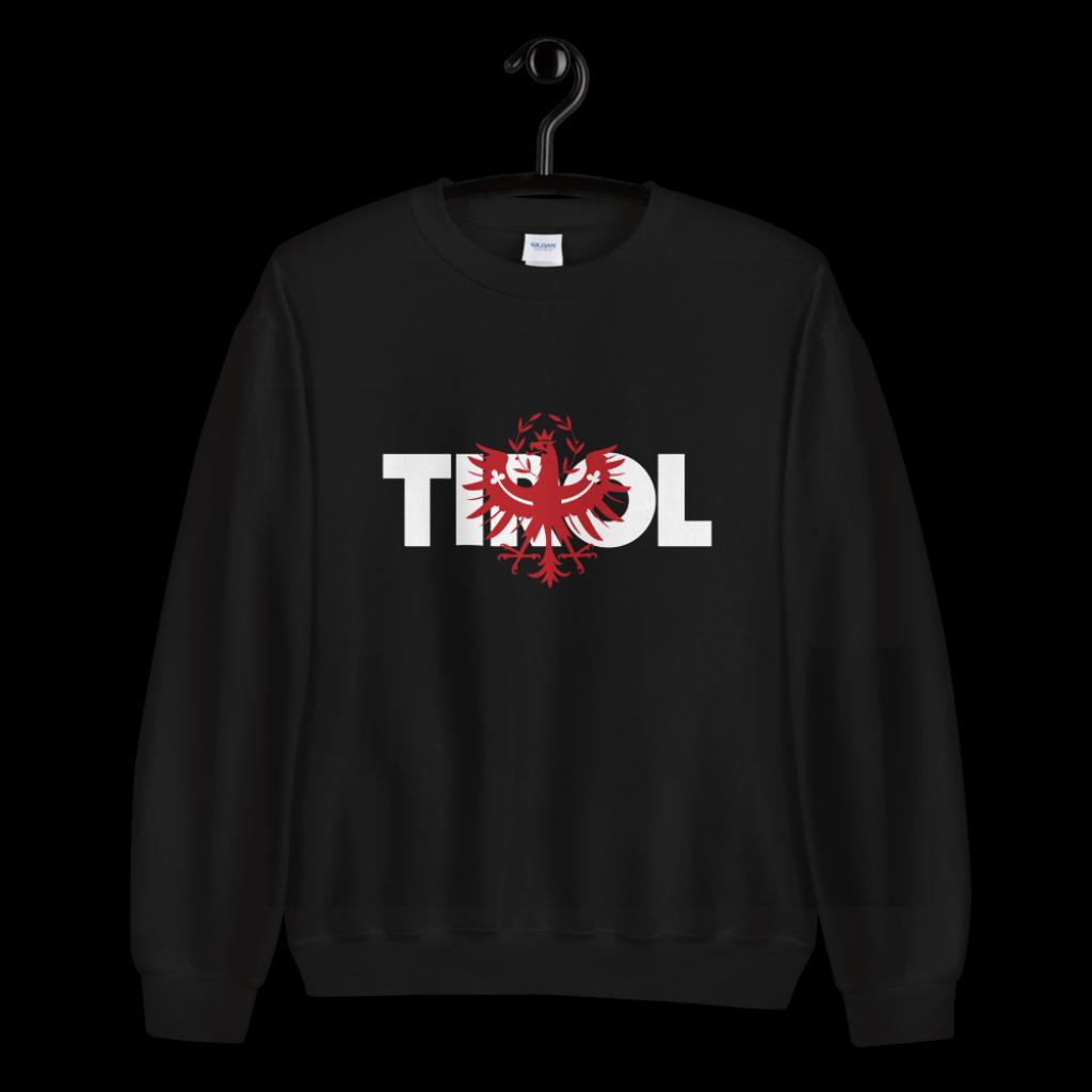 Tirol Schriftzug Adler Sweatshirt Pullover